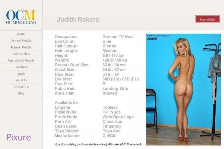 Rakers  nackt Judith Judith Rakers